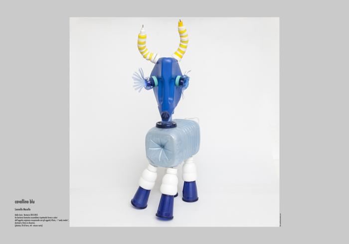 Cavallino blu